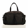 Unisex Courage Satchel Diaper Bag in Black