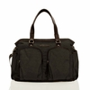 Unisex Courage Tote Diaper Bag in Black