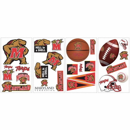 University of Maryland Peel & Stick Applique