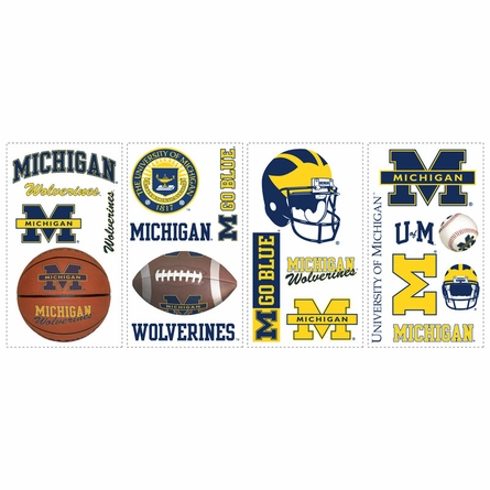 University of Michigan Peel & Stick Applique