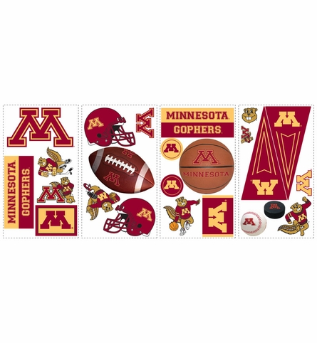 University of Minnesota Peel & Stick Applique