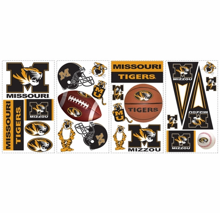 University of Missouri Peel & Stick Applique