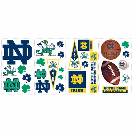 University of Notre Dame Peel & Stick Applique