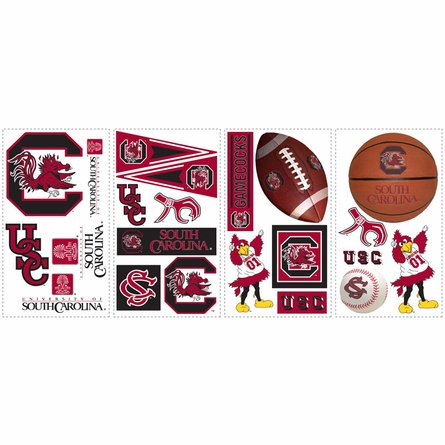 University of South Carolina Peel & Stick Applique