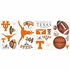University of Texas Peel & Stick Applique