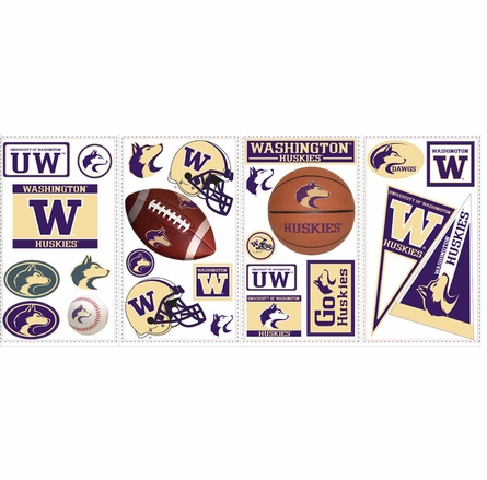 University of Washington Peel & Stick Applique