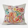 Unwavering Avis Throw Pillow