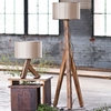 Unysn Elm Floor Lamp with Sand Shade