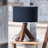 Unysn Elm Table Lamp with Black Shade