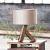 Unysn Elm Table Lamp with Sand Shade