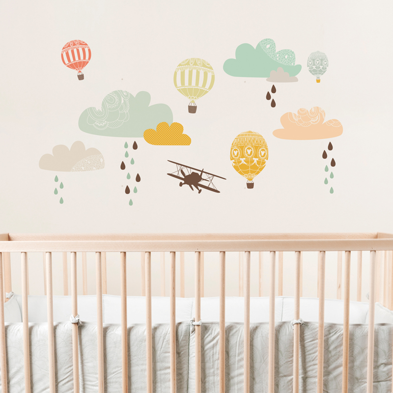fabric wall decals for nursery images