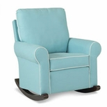 Upholstered Nursery Rockers
