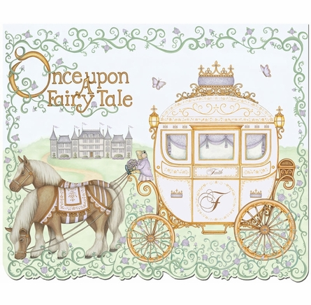 Upon a Fairy Tale Wall Hanging in Lovely Lavender