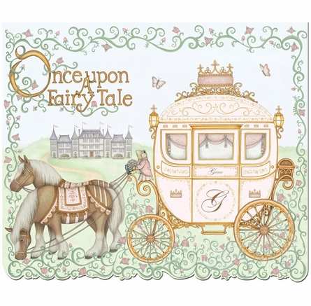 Upon a Fairy Tale Wall Hanging in Posey Pink