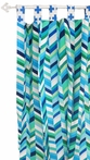 Uptown in Electric Blue Curtain Panels - Set of 2