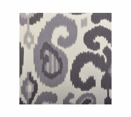 Urban Ikat in Gray Baby Blanket