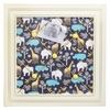 Urban Zoo in Gray Memo Board