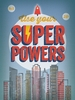 Use Your Super Powers Blue Canvas Wall Art