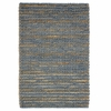 Valencia Wool and Jute Slate Rug