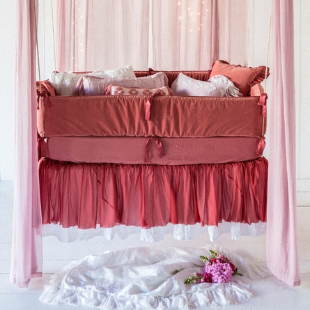 Valentina Crib Skirt