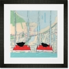 Vancouver Lake Framed Art Print