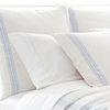 Varana Linen French Blue Euro Sham