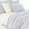 Veena Blue Duvet Cover
