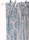 Velvet Baby in Aqua Curtain Panels - Set of 2