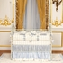 Venetian Crib in Antique White