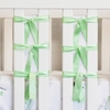 Ventilated Slat Bumper 20-Pack with Mint Green Ties