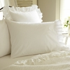 Verandah White Cotton Pillowcase Set