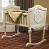 Versailles Antique White Cradle