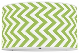Vertical Chevron Apple Green