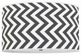 Vertical Chevron Black