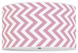 Vertical Chevron Bubblegum Pink