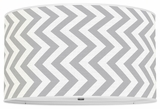 Vertical Chevron Gray
