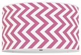 Vertical Chevron Hot Pink