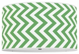 Vertical Chevron Kelly Green