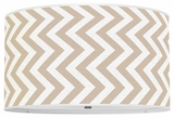 Vertical Chevron Khaki