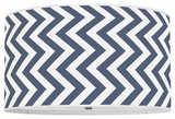 Vertical Chevron Navy
