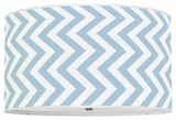 Vertical Chevron Sky Blue