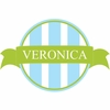 Vertical Striped Banner Personalized Fabric Wall Decal