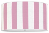 Vertical Stripes Bubblegum Pink