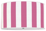 Vertical Stripes Hot Pink