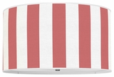 Vertical Stripes Red