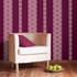 Very Berry Stripe Wall Decals