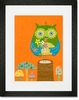 Very Fun Guy Framed Art Print