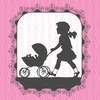 Victorian Details Baby Carriage Canvas Wall Art
