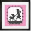 Victorian Details Baby Carriage Framed Art Print