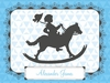 Victorian Details Rocking Horse Canvas Wall Art